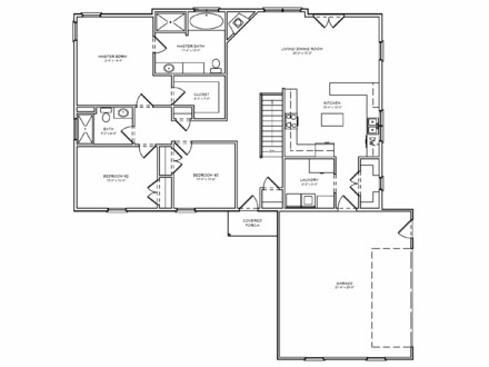 Single Level Ranch House Plans Dormers On a Ranch House
