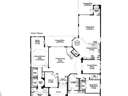 Single Story Open Floor Plans Majestic Floor Plans for the Long Lake Ranches Renoir