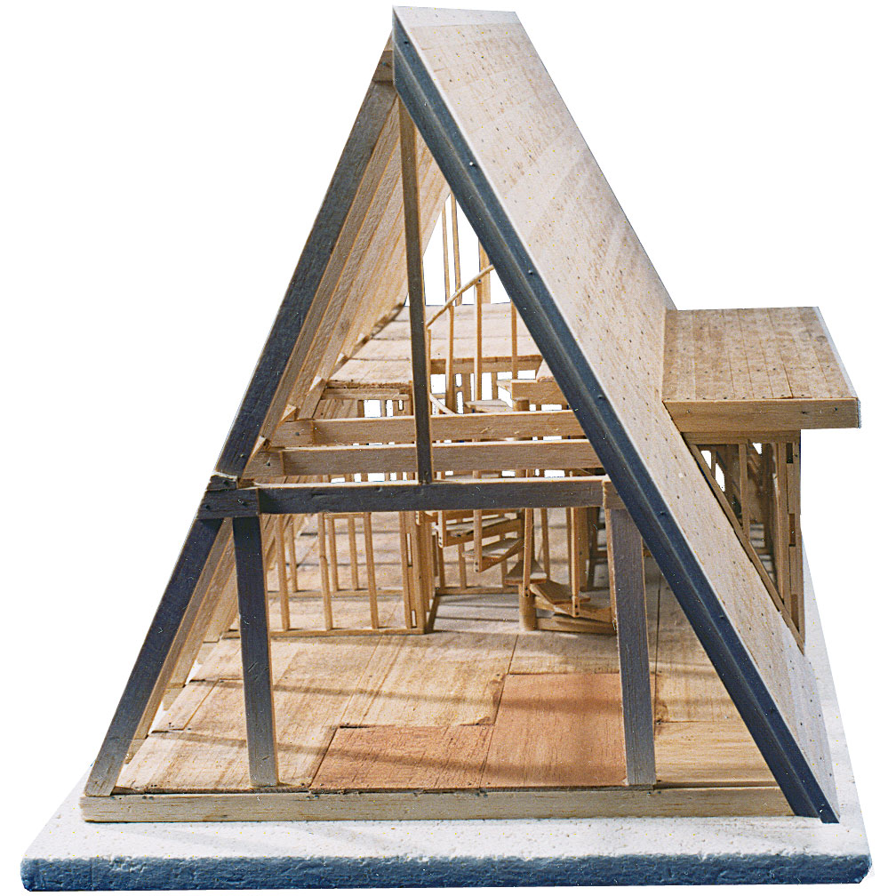 Small a frame cabin kits a frame cabin kits home hardware for Timber frame cottage kits