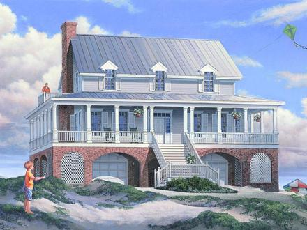 Small Coastal House Plans Basic House Plans with Porches