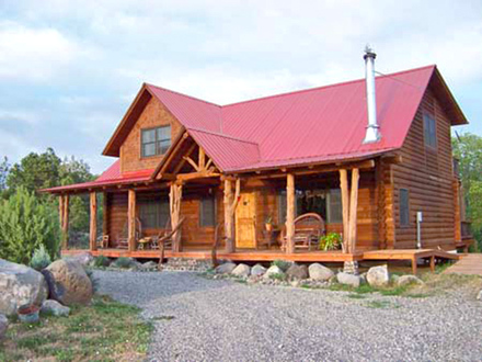 Small Log Cabin Living Small Log Home House Plans