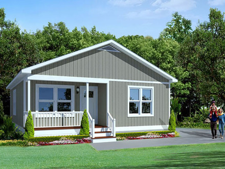 One story house floor plans contemporary house plans for Small two story modular homes