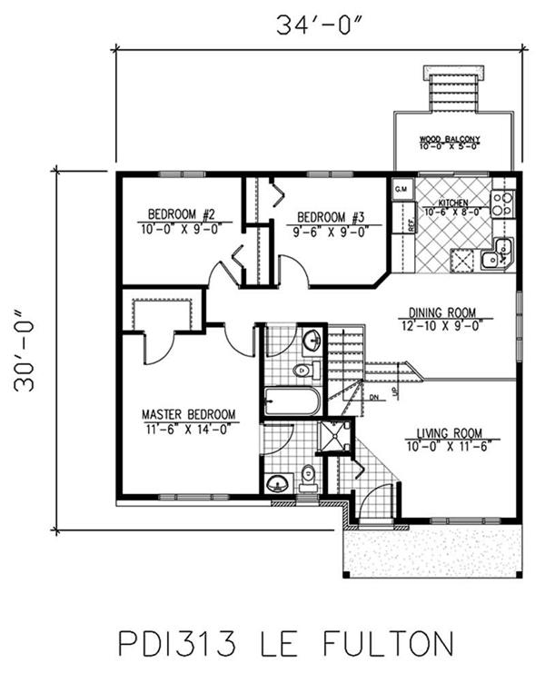 Two Story Tiny House Plan: Small Two-Story Bungalow Houses Small Bungalow House Floor