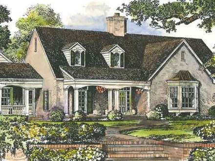 Southern Living Cottage House Plans House Plans with Porches Southern Living