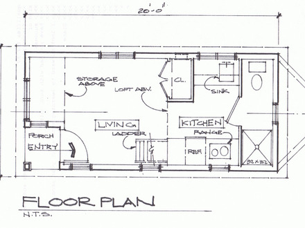 Tiny Cottage House Plan Cottage Tiny House Floor Plans