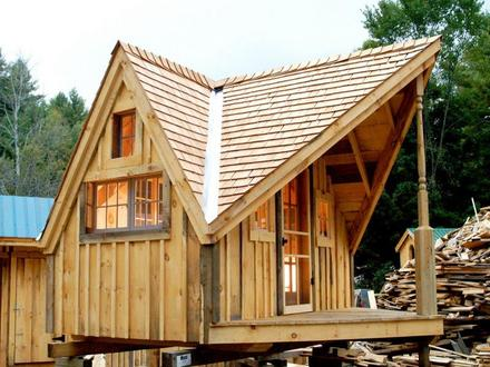 Tiny Houses in Cabin and Cottage Plans Escape Cabin Tiny House