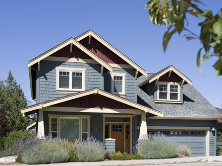 Two Story Craftsman Style Home Plans Simple Two-Story House