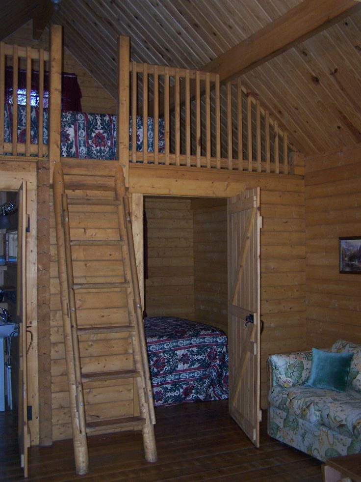 Unique small log cabins small log cabins with lofts log for Loft cabins