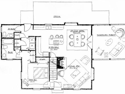 2 Bedroom House Simple Plan House Plans and Designs