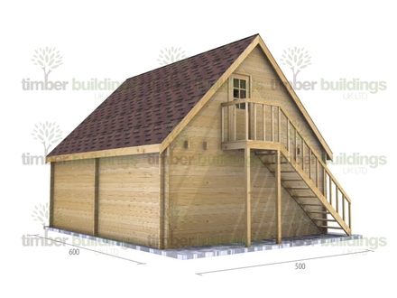 2 Story Portable Log Cabin 2 Story Log Cabin with Garage