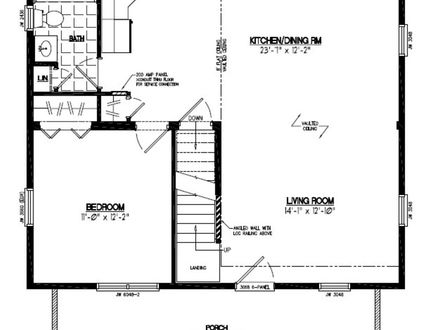 30 X 36 Floor Plans 36 X 60 Wall Mirror