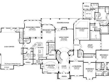 5 Bedroom House Floor Plans 2 Story 4 Bedroom House
