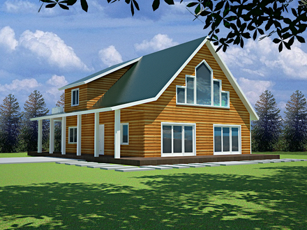 600 Sq FT Cabin Plans with Loft 600 Sq FT Cottage Plans