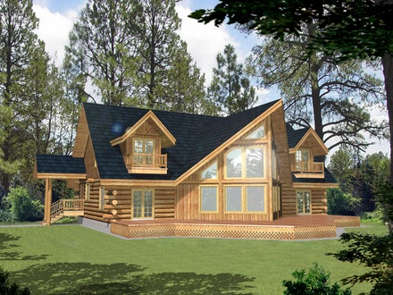A Frame Log House Plans A Frame Cabin House Plan