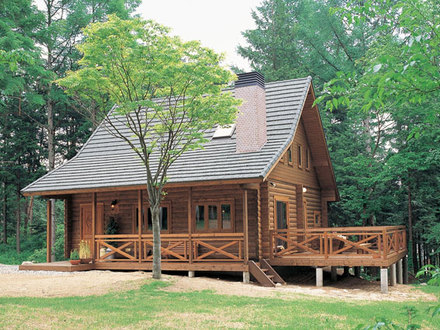 Timber frame cabins and cottage kits for Timber frame cottage kits