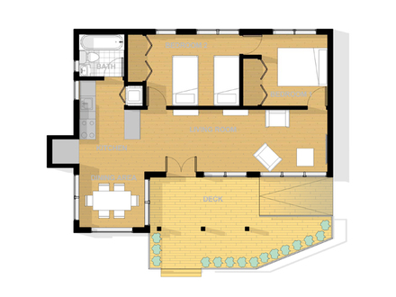 Beach House Floor Plans Beach Bungalow Floor Plans