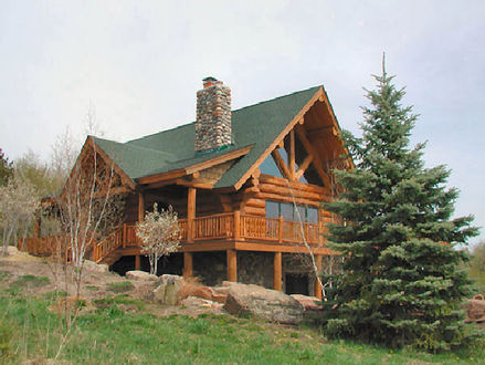 Beautiful Log Cabin Home Biggest Luxury Log Home