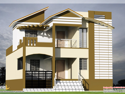 Best Indian House Designs South Indian House Designs