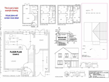Building Section Drawing Building Drawing House Plans