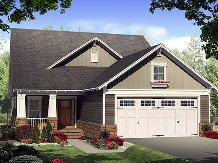 Bungalow House Plans with Porches Bungalow House Plans with Garage