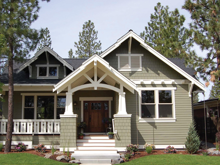 Bungalow House Plans with Porches Bungalow House Plans with Porches