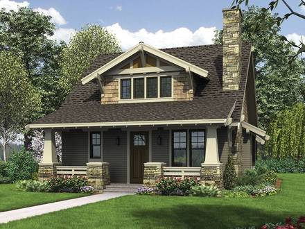 Bungalow Houses with Porches Craftsman Style Bungalow House Plans