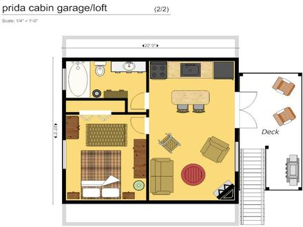 Cabin Floor Plan with Garage Cute Cabin Plans and Designs