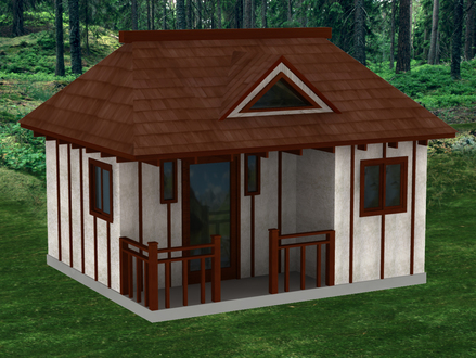 Cottage Style Tiny House Zen Cabin Tiny House