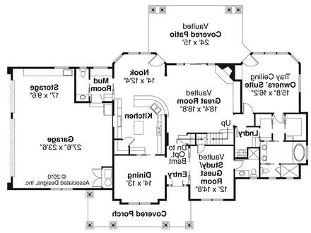 Craftsman Floor Tile Designs Craftsman Style House Floor Plans