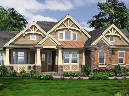 Craftsman House Plans Small Cottage Craftsman Style House Plans for Homes