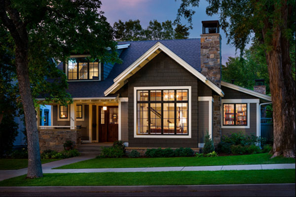 Craftsman Style Home Exterior Paint Colors Single Story Craftsman Style Homes