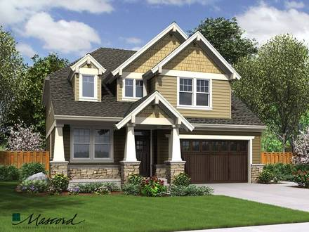 Craftsman Style House Plans Open Floor Plans Craftsman Style