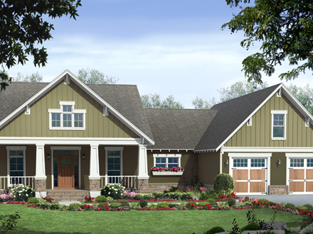 Craftsman Style House Plans Single Story Craftsman House Plans