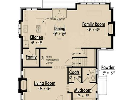Custom Plan Design The Arts and Crafts Bungalow Without Garage I Custom Luxury Ranch House Plans