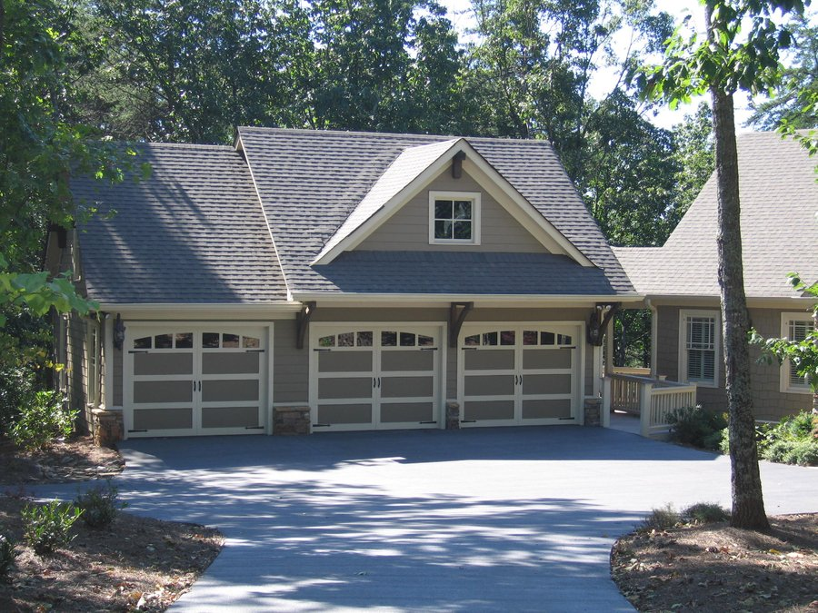 Detached 3 car garage plans detached 3 car garage with for Cost to build attached 2 car garage