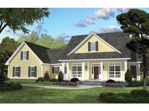 Eplans country house plan country charisma 2100 square for House plans eplans