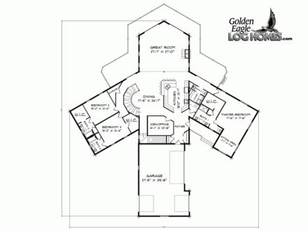 Award Winning Cottage Floor Plans Award Winning Bungalow