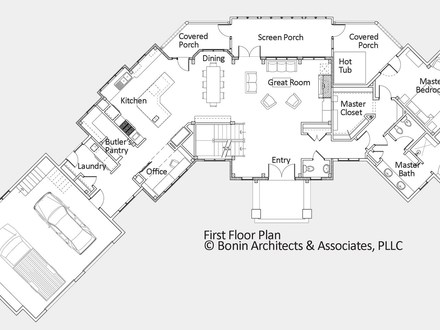 Simple ranch house floor plans simple ranch house floor for Luxury custom home floor plans