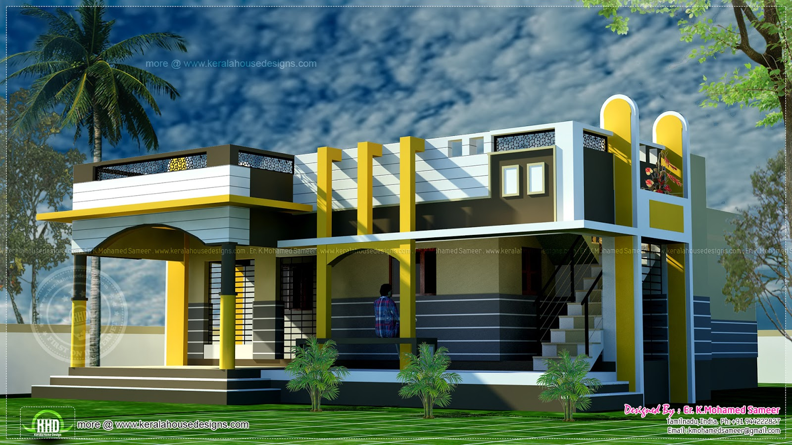 Good house plans in kerala small home kerala house design for Good house photos