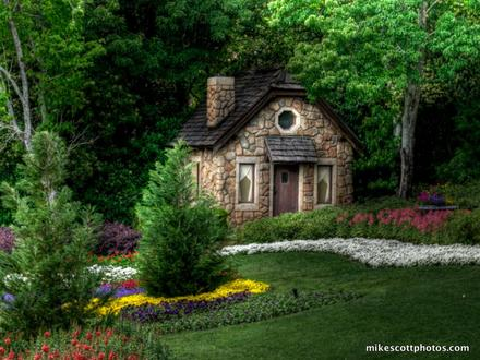 Hidden Cottage Fairy Tale Fairy Tale Cottage House