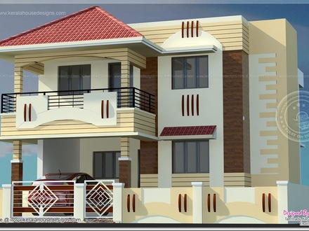 Home Elevation Blueprint Indian Home Elevations Designs