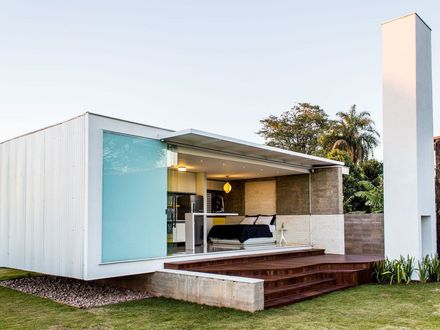 House 1220, a modern bachelor pad in Brazil Alex Nogueira Small 1220 Hometown Station