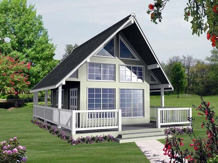 House Plans Small Lake Small Vacation House Plans with Loft
