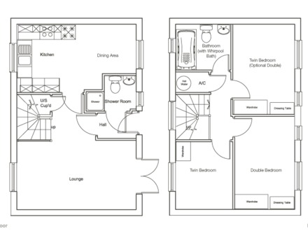 Small cottage floor plans large cottage floor plan floor for Cottage construction costs
