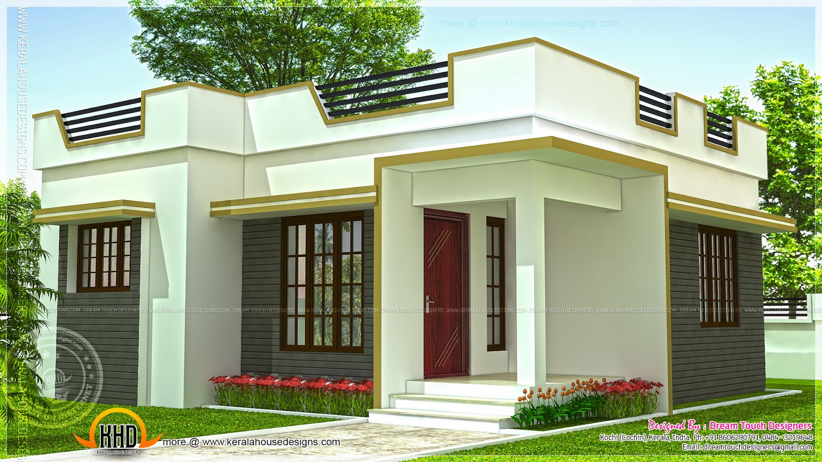 Kerala beautiful houses inside small house plans kerala - Beautiful front designs of homes ...