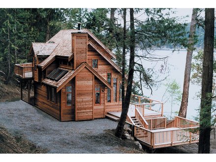 Lakefront Luxury House Plans Narrow Lakefront House Plans