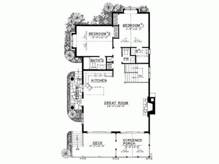 Lakefront Narrow Lot House Plans Extremely Narrow Lot Homes