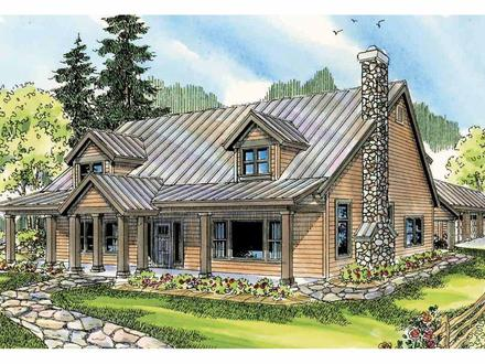 Lodge Luxury House Plans Lodge Style House Plan Elkton 30 704 Front Elevation