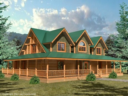 Log Cabin House Plans with Open Floor Plan Log Cabin Home Plans and Prices