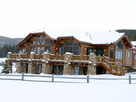 Log Cabin Mansions in the Mountains Log Cabin Luxury Mansions